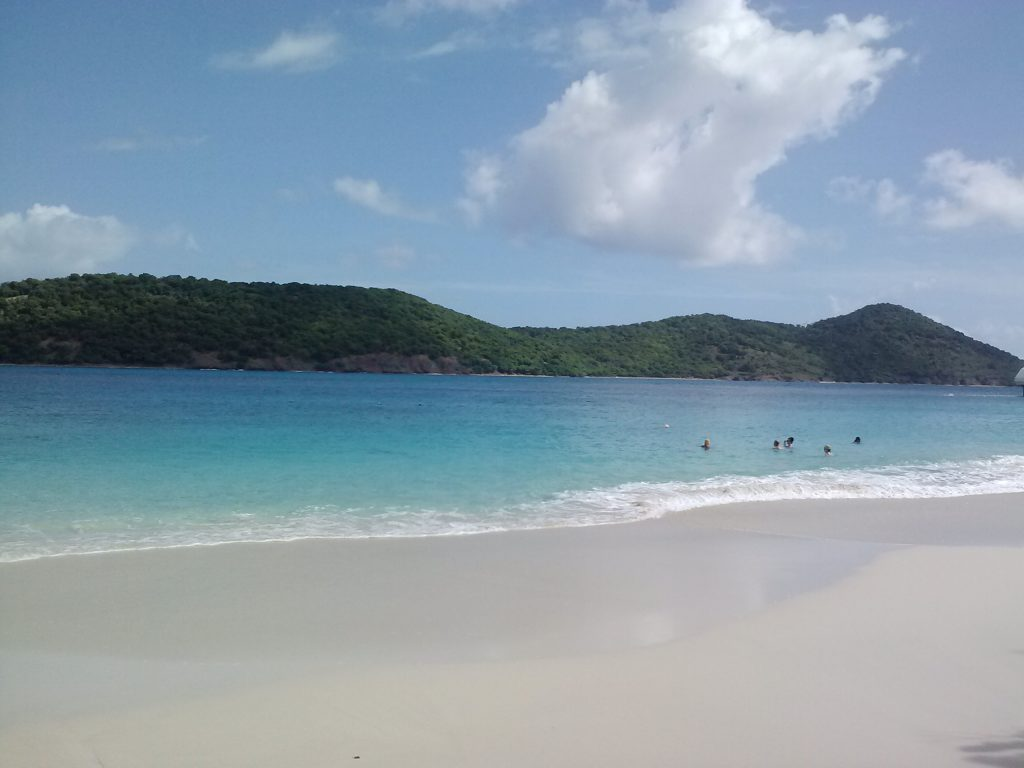 Coki Beach near Margaritaville in St, Thomas